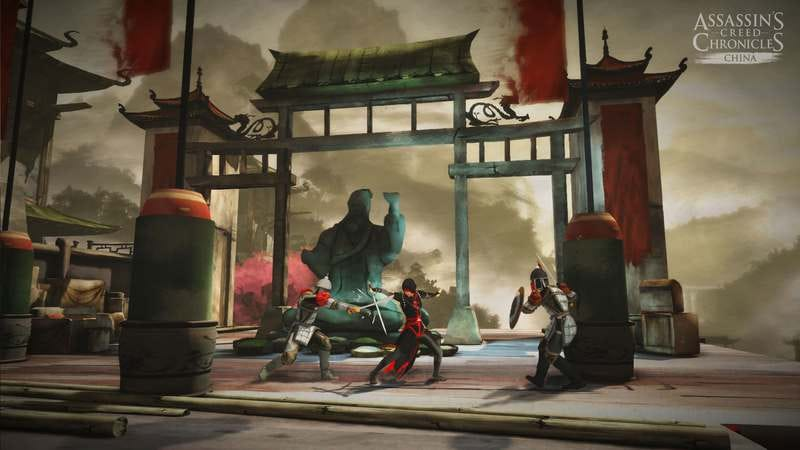 Illustration for article titled New Assassin's Creed Chronicles trilogy will visit China, India, and Russia
