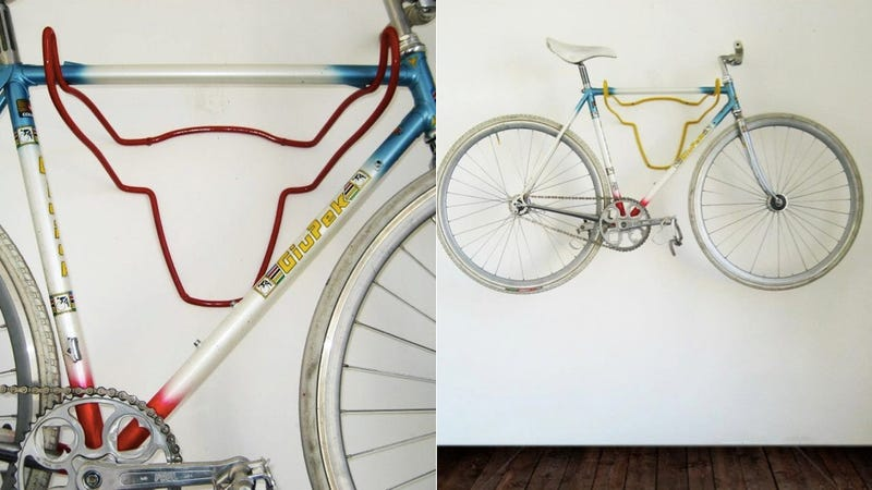 Illustration for article titled Finally, Wall-Mounted Bike Storage That Looks Great