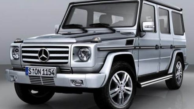 2009 mercedes benz g class gets more power still. Black Bedroom Furniture Sets. Home Design Ideas