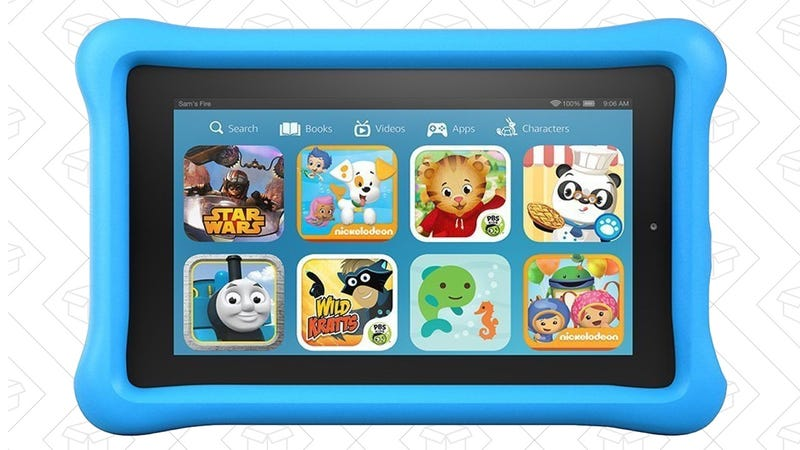 Amazon Fire Kids Edition, $80, or $150 when you buy two with code SUMMER2PACK