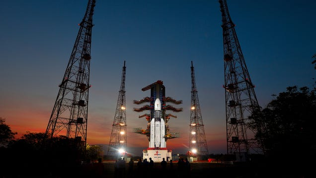 India Just Launched Its Giant  Monster  Rocket
