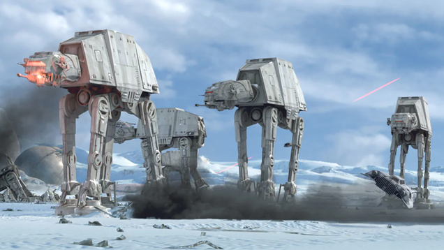 Maybe AT-ATs Aren t as Dumb as They Look