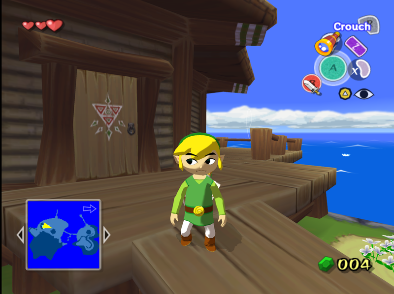 Illustration for article titled Nibby Bait: My new mac can run Wind Waker at 2k