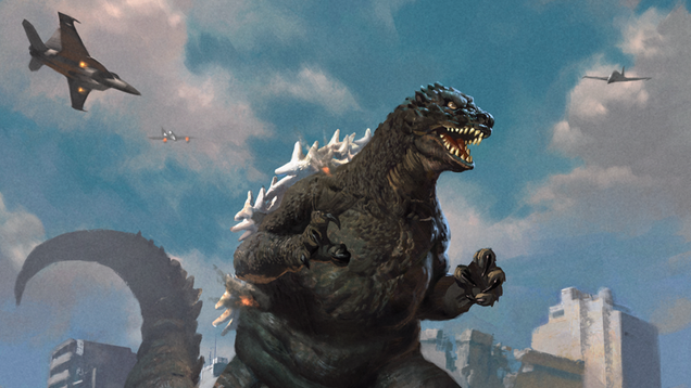 Godzilla Is Coming to Magic: The Gathering, and He s Bringing Friends