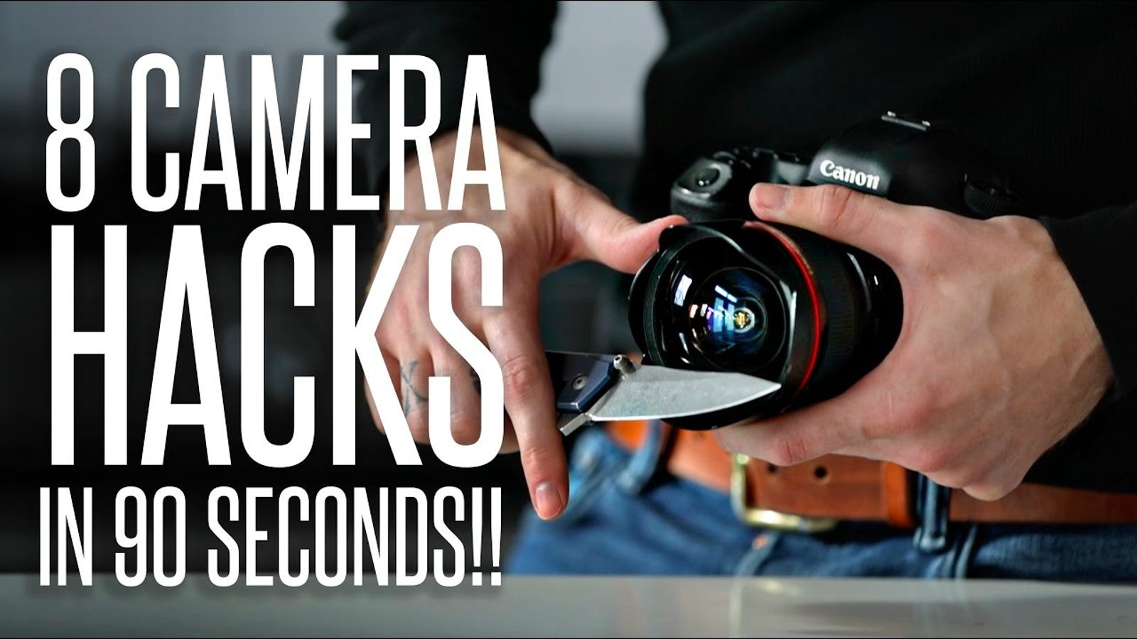 Learn Eight Field Photography Tricks In 90 Seconds