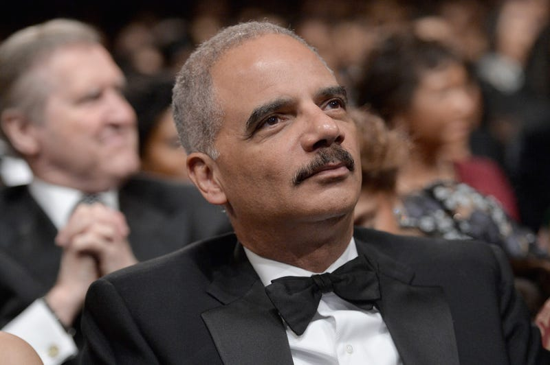 Eric Holder attends the BET Honors 2016 Show at Warner Theatre March 5, 2016, in Washington, D.C.Paras Griffin/BET/Getty Images for BET
