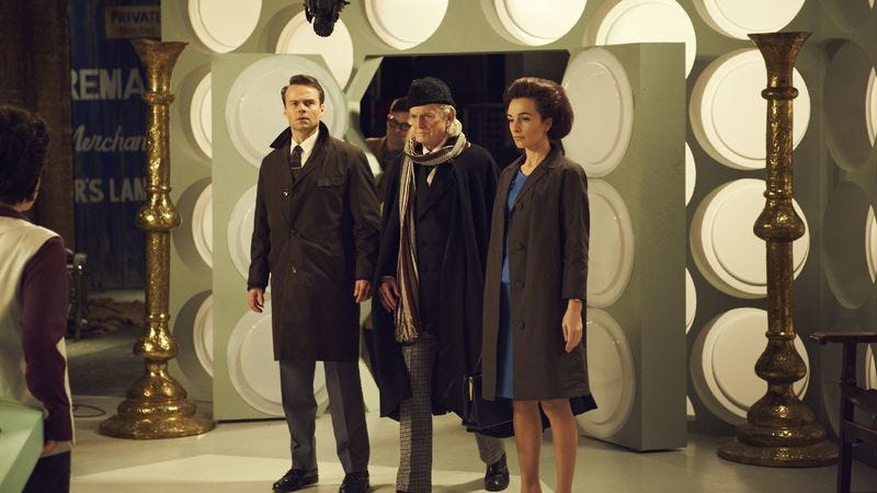Illustration for article titled An Adventure In Space And Time looks back at Doctor Who's beginnings