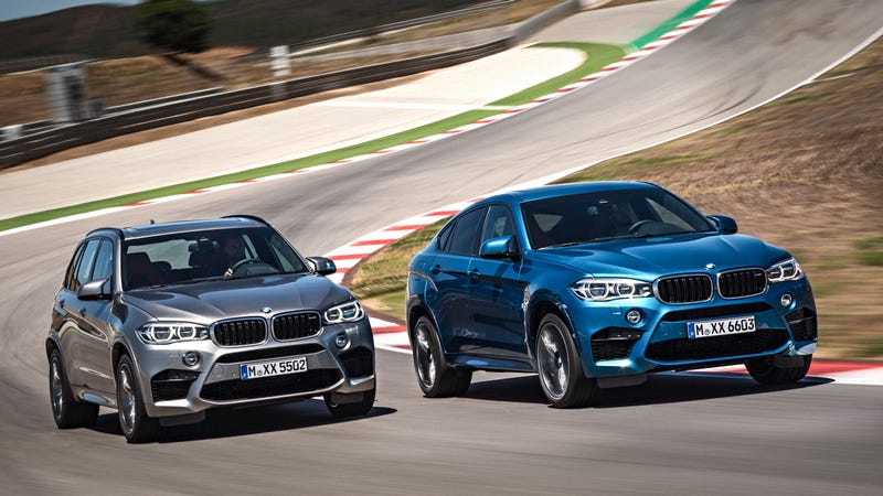 Illustration for article titled The 567-HP BMW X5 M And X6 M: These Are Them