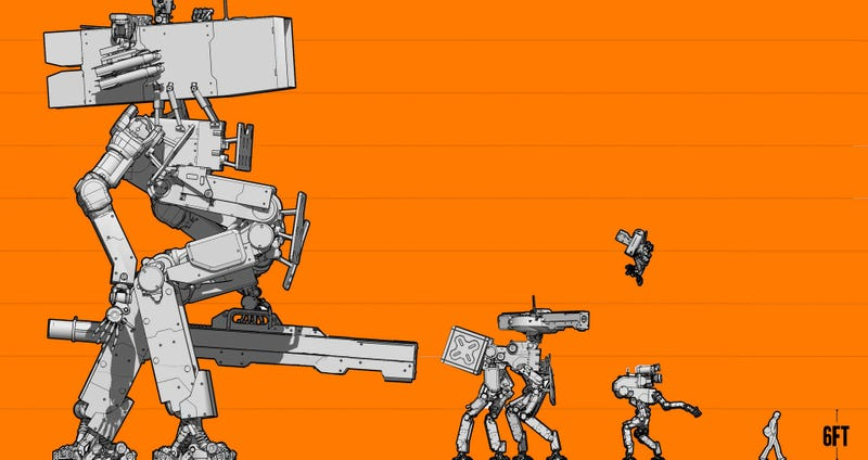 Hope You Like Pictures Of Giant Combat Mechs Because