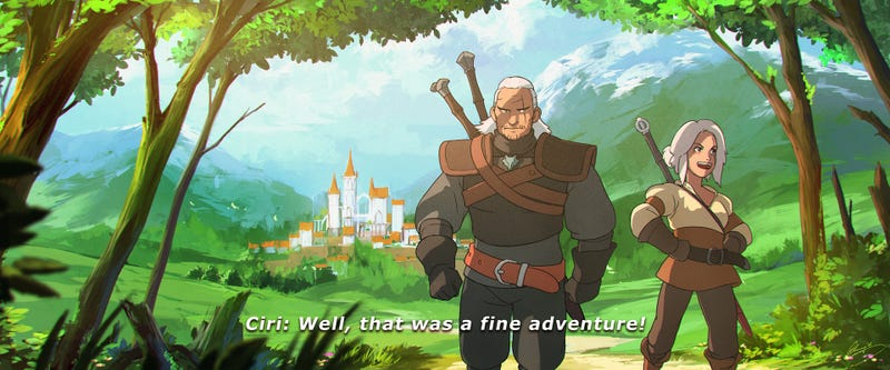 Illustration for article titled The Witcher 3 vs Studio Ghibli