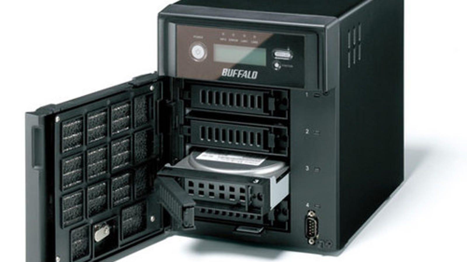 Massive 4TB Buffalo TeraStation WSS NAS Wears Equally