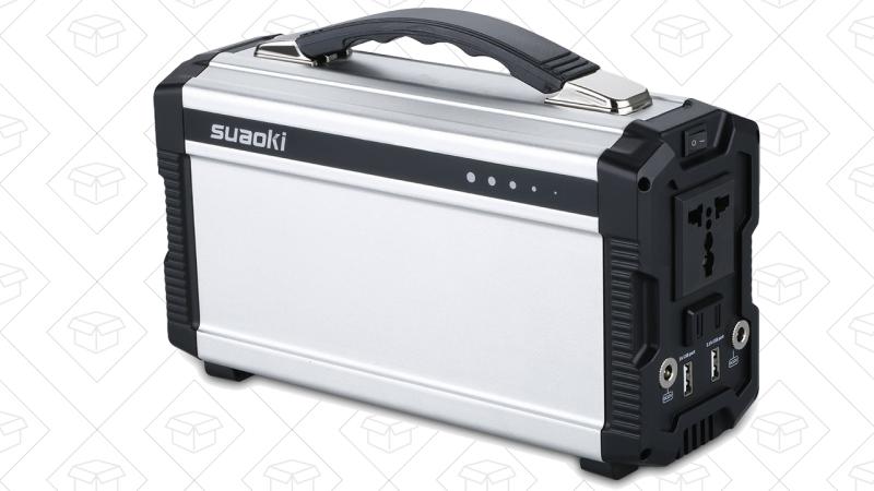 Batería Suaoki 220Wh, $170 con el código 724BZYOE