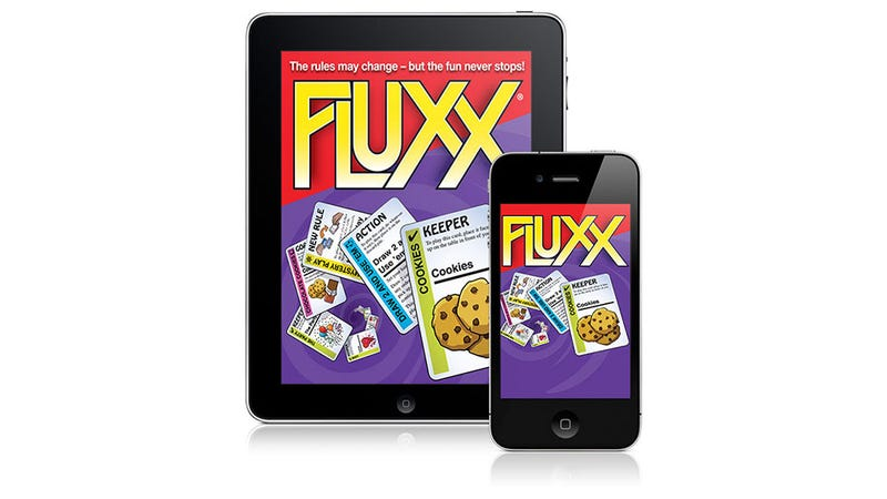 Illustration for article titled There'll Be Mobile Fluxx for Christmas