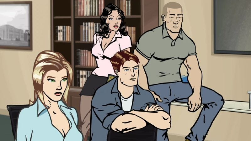 """Illustration for article titled Netflix's new show Pacific Heat asks: """"What if Archer wasn't funny?"""""""