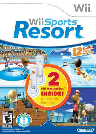 Illustration for article titled Wii Sports Resort Bundle Gets a Second MotionPlus