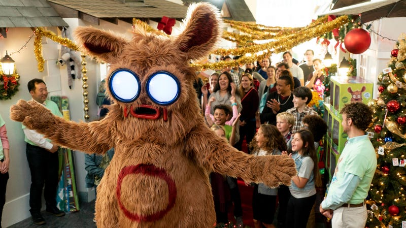 "The title character in ""Pooka!"" is just as terrifying as this image suggests."
