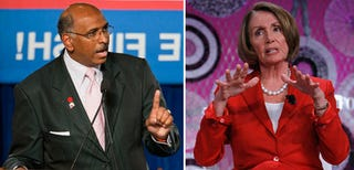 "Illustration for article titled Michael Steele to Nancy Pelosi: ""Put Up or Shut Up"""