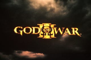 Illustration for article titled God of War III Announced for PS3