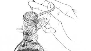 Illustration for article titled Use Cheesecloth to Filter Broken Cork from a Bottle of Poorly Opened Wine