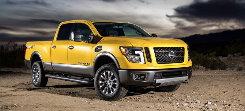 The Nissan Titan Xd Is The Cheapest Cummins Diesel Crew Cab 4wd At