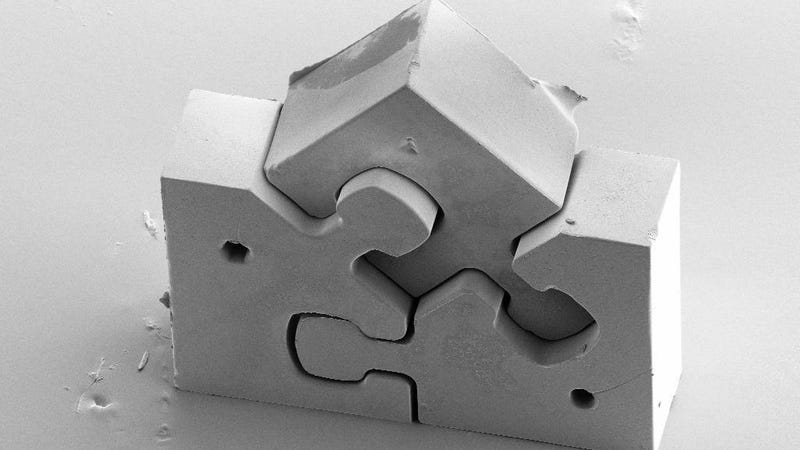 Illustration for article titled The World's Smallest Jigsaw Puzzle Is a Cinch If You Can Find It