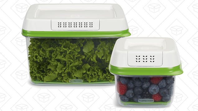 Rubbermaid's Uber-Popular FreshWorks Starter Pack Is Down To Just $15, If You Hurry