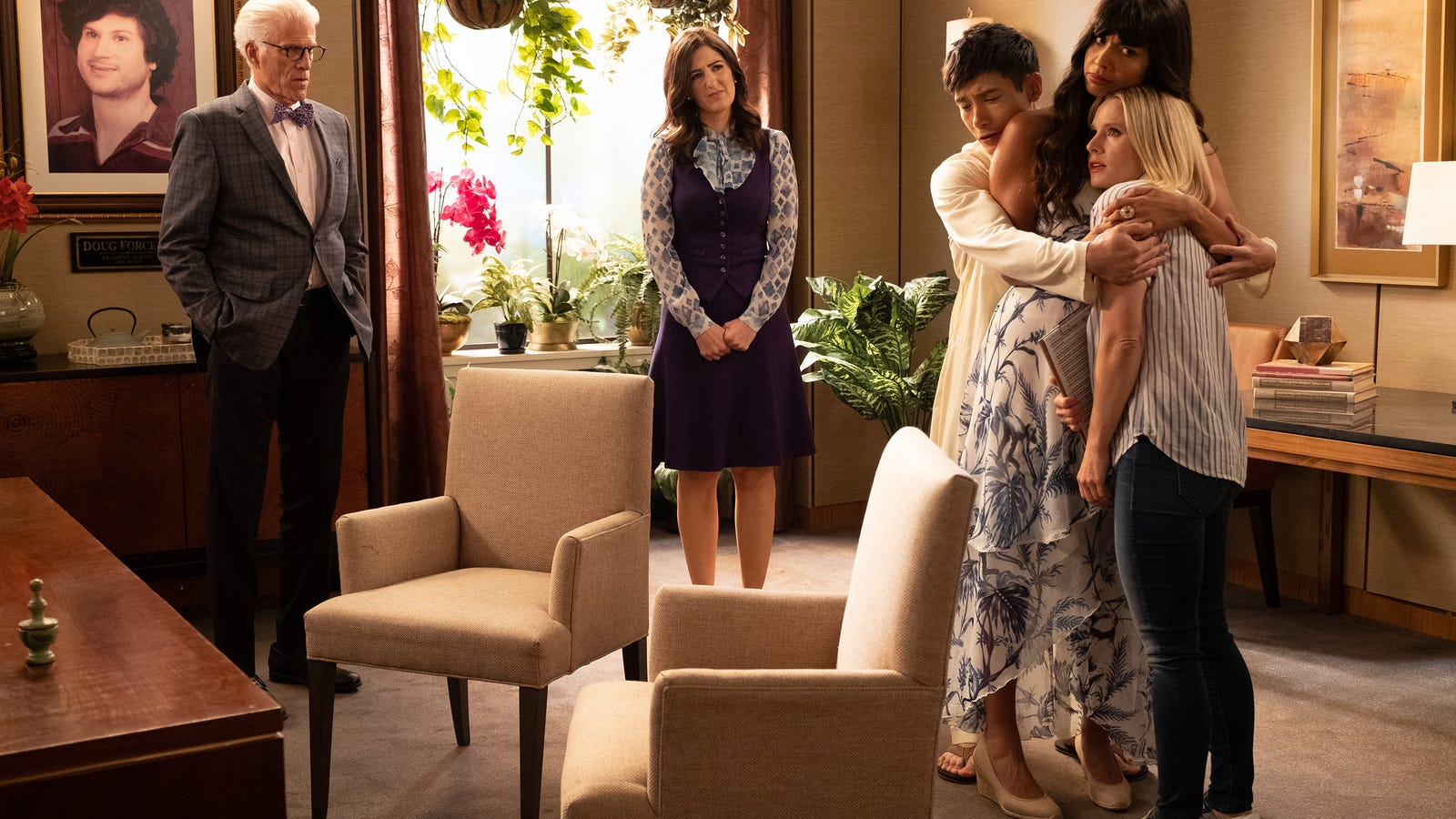 The Good Place writers want you to keep trying until the very end