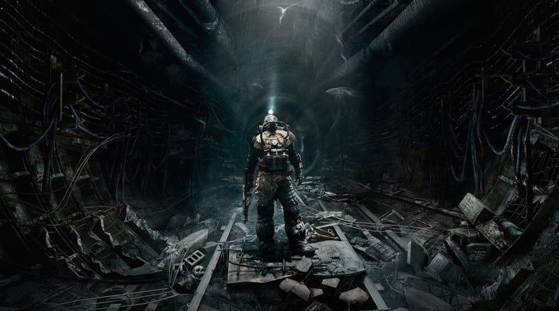 Imagen del juego Metro: Last Light, secuela de Metro 2033.