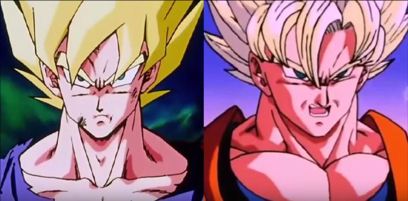Illustration for article titled Cómo cambia la calidad de los personajes de Dragon Ball Z de episodio a episodio