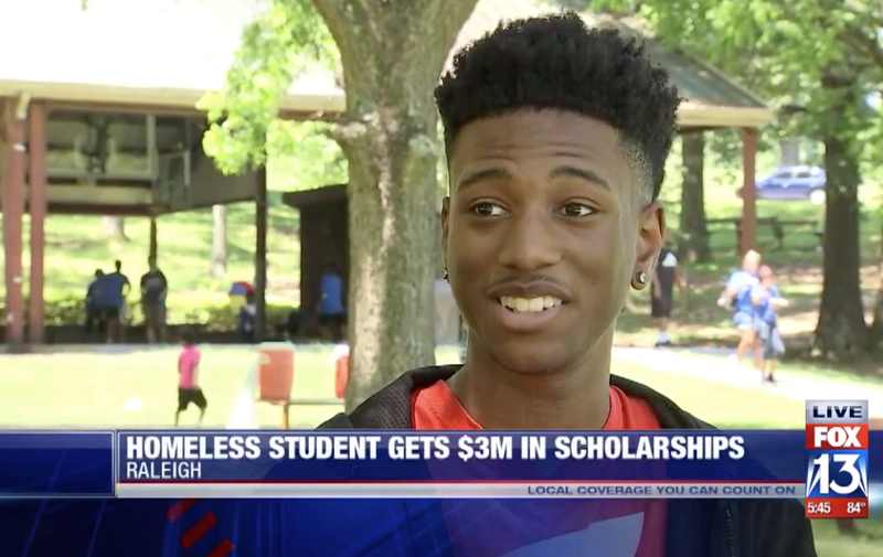 Illustration for article titled Homeless Student Awarded $3 Million in Scholarships, Named Valedictorian