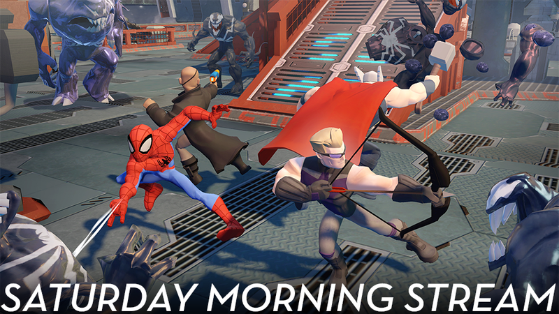 Illustration for article titled Saturday Morning Stream: Disney Infinity Marvel Super Heroes (All Done)