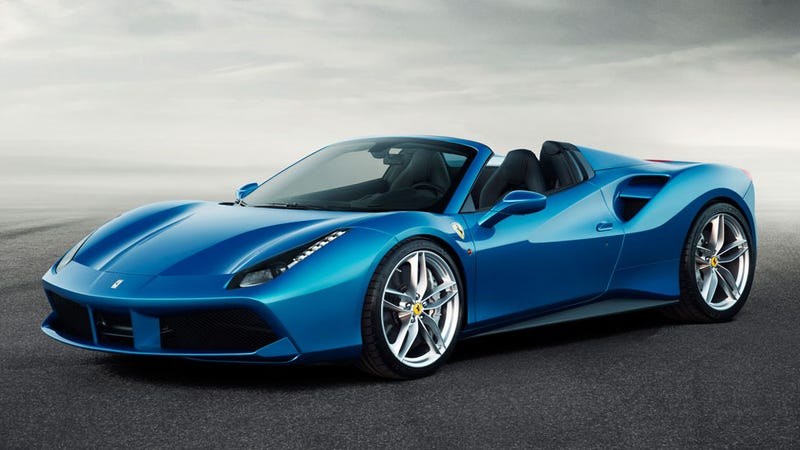 Illustration for article titled 2016 Ferrari 488 Spider: This Is It
