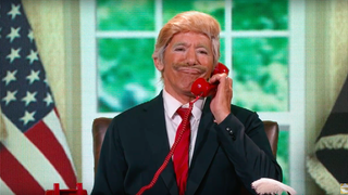 Illustration for article titled Sad Dancing with the StarsDiaries: Geraldo Rivera Parodies His Good Friend Donald Trump