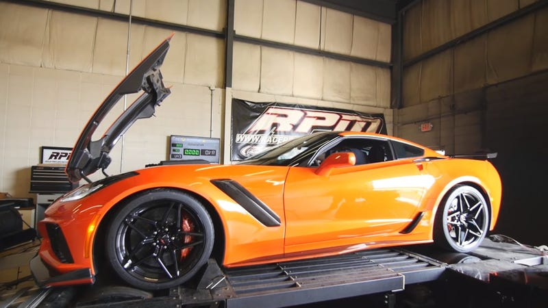 Corvette C7 Zr1 >> The First 2019 Corvette Zr1 To Hit The Dyno Makes 670 Hp To The Wheels