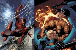 Illustration for article titled Live-Action Daredevil And FF Will Have Their Classic Costumes After All