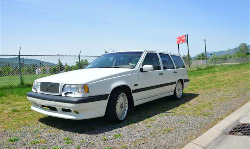 Boost Past The Compeion With This 1997 Volvo 850R