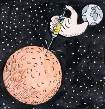 Illustration for article titled Don't send bugs to Mars