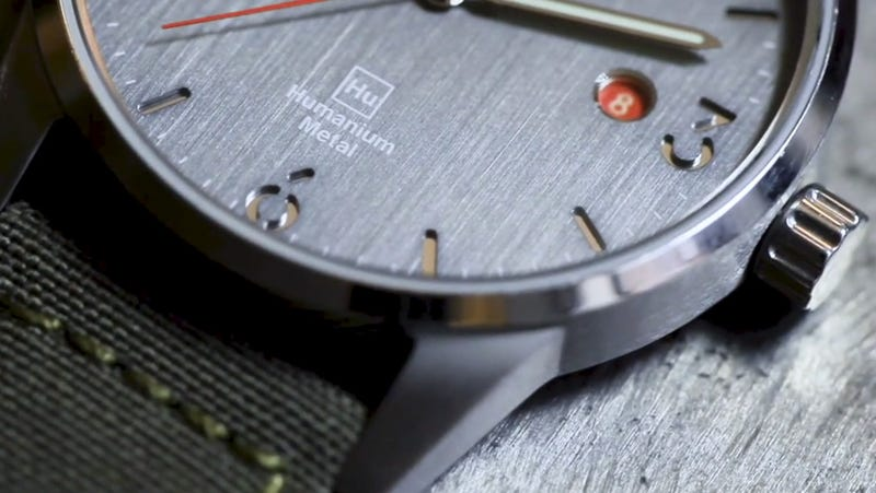 TRIWA x Humanium Metal: Swedish Designed Watch Made from Destructed Illegal Firearms