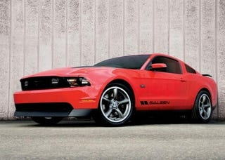 Illustration for article titled Saleen 435S Mustang Debuts With 435 HP, Without Steve