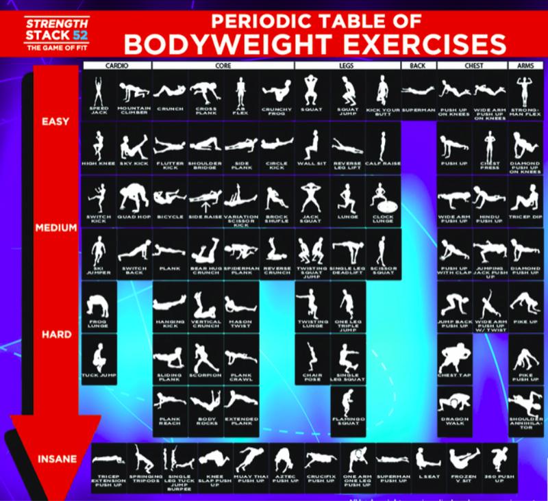 Weightless Bodybuilding Workout