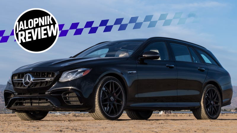 Heres Why The 2018 Mercedes Amg E63 S Wagon Is Still The God King