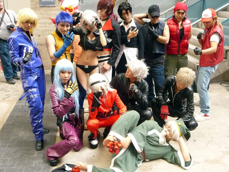 Illustration for article titled Tokyo Game Show King of Cosplay: Day Two