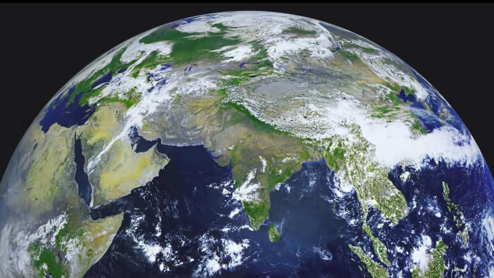 Este es el vídeo más nítido de la Tierra que se ha grabado nunca