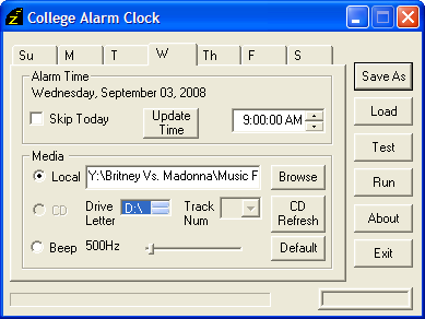 Illustration for article titled College Alarm Clock Wakes You Up in Time for Class Today