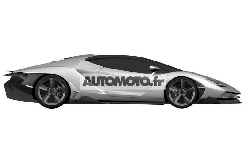Illustration for article titled Lamborghini Centenario - Weird Looking Shovel