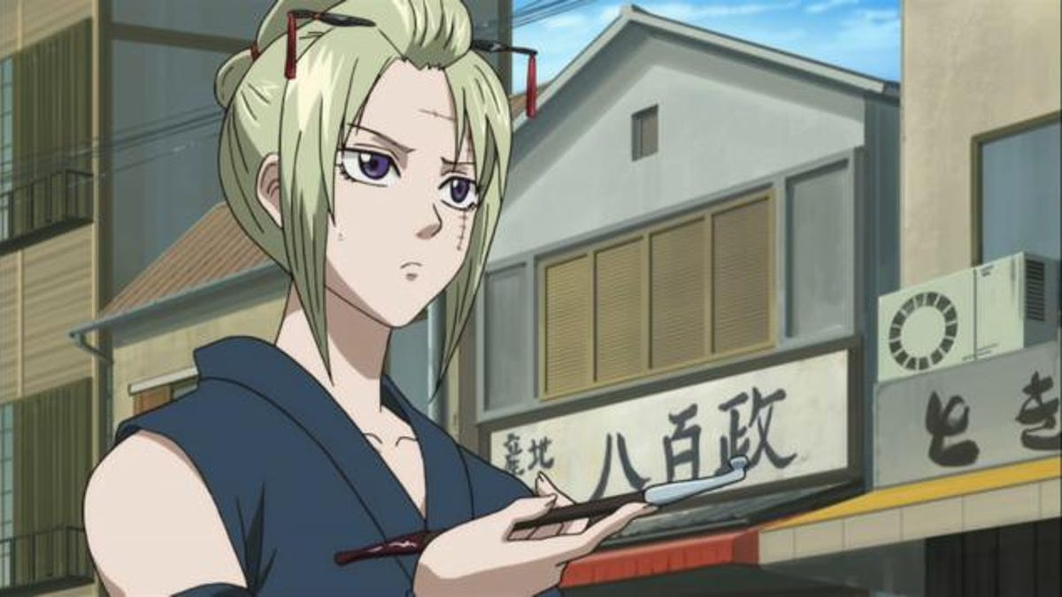 The coolest women in anime according to fans