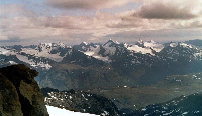Las montañas de Oppland, en Noruega. Foto: Honza and Ivana Ebr / Wikipedia