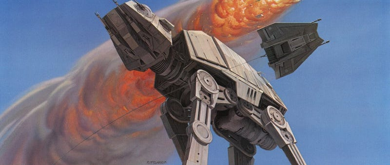 Illustration for article titled In Memory of Ralph McQuarrie, the Artist who Designed Darth Vader & R2-D2