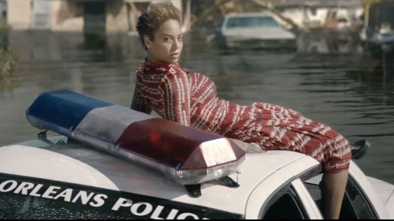 """Illustration for article titled Beyoncé says """"Formation"""" video is not anti-police"""