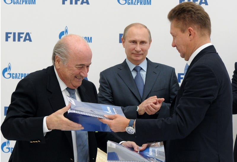 Illustration for article titled FIFA Stands With Russia